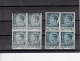 1945 LP 187 MIHAI I EROARE  DANTELURA+EROARE CULOARE+LINIE VERTICALA BLOC STANGA