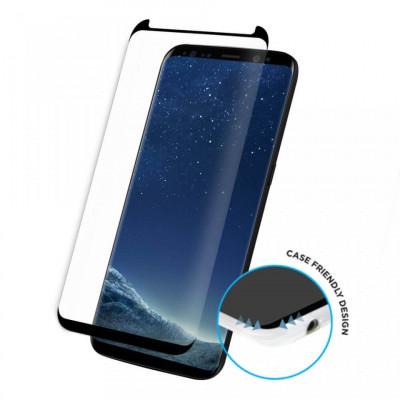 Folie de sticla Samsung Galaxy S8, Black case frendly Elegance Luxury foto