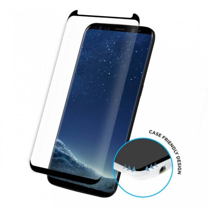 Folie de sticla Samsung Galaxy S8, Black case frendly Elegance Luxury
