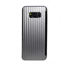 Cumpara ieftin Husa book Samsung Galaxy S8 Argintiu
