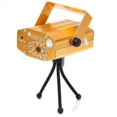 Proiector laser cu trepied si telecomanda, 2 diode