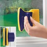 Dispozitiv magnetic de curatat geamuri, oglinzi sau usi de sticla Mania