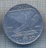 AX 1360 MONEDA -ITALIA- 50 CENTESIMI -ANUL 1941 XIX MAGNETIC-STAREA CARE SE VEDE, Europa