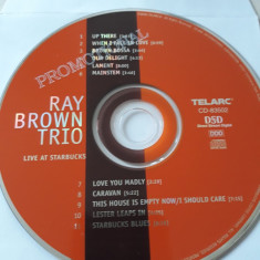RAY BROWN TRIO - LIVE AT STARBUCKS  - CD
