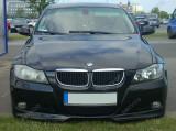 Prelungire adaos fusta buza bara fata BMW E90 pachet M tech Aero 2005-2008 v2, 3 (E90) - [2005 - 2013]