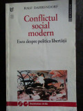Conflictul social modern-Ralf Dahrendorf