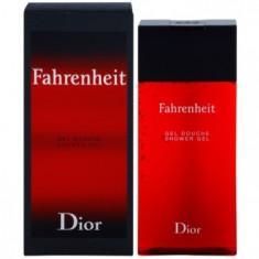 Dior Fahrenheit gel de dus pentru bărbați 200 ml
