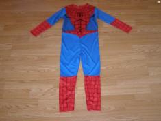 costum carnaval serbare spiderman pentru copii de 5-6 ani foto