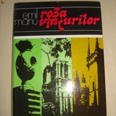 EMIL MANU - ROZA VANTURILOR {cu imagini}