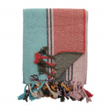 Patura decorativa Serena Multicolor, 160 x 130 cm