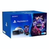 Pachet PlayStation VR - PS Camera - voucher VR Worlds, Sony