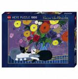 Cumpara ieftin Puzzle Heye Lilies, 1000 piese