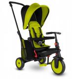 Tricicleta pliabila Smart Trike 6 in 1 STR3 Verde dotata cu frana si scaun rabatabil