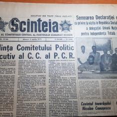 """ziarul scanteia 2 aprilie 1975-articolul """" minerii de la vulcan """""""