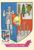 România, LP 928/1976, Stemele judeţelor (A-D), (uzuale), c.p. maximă, Alba