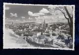 CLUJ , VEDERE GENERALA , CARTE POSTALA ILUSTRATA , MONOCROMA, NECIRCULATA , DATATA PE VERSO 1937