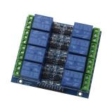 modul cu 8 relee canale 12v 5v 220v 10A arduino avr stm pic