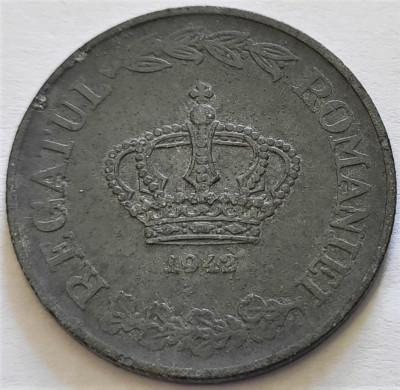 Moneda ISTORICA 20 LEI - ROMANIA, anul 1942 *cod 4008 A = zinc foto
