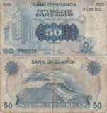 1979 , 50 shillings ( P-13a ) - Uganda