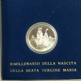Vatican 500 lire 1984   2000 th Anniversary of Virgin Mary