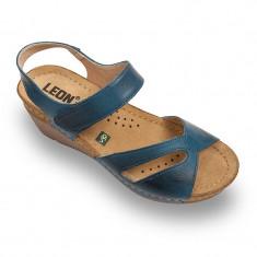 Sandale Leon 1056 albastru – dama