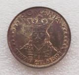 ROMANIA 20 LEI 1992, 5 g, Brass Clad Steel, 24 mm **