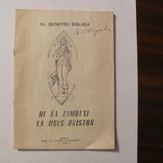 """GE - Preot Dumitru BALASA """" De la Zamolxe la Iisus Hristos"""""""