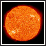 Tablou Framed Art The Sun By NASA