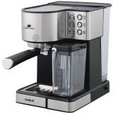Espressor semi-automat Samus Latte Gusto, 20 bari, 1.8 L, Rezervor lapte 0.5 L, Functie Capuccino, Functie Latte, Funcție de curățare, Duză abur pentr