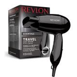 Cumpara ieftin Uscator de par Revlon Essentials Travel, 1200 W, 2 viteze, 2 trepte, maner pliabil