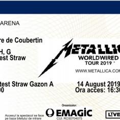 Bilet Metallica VIP 3