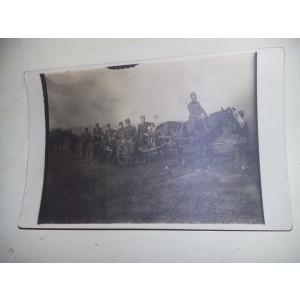 fotografie veche militari,car de lupta/cal, SERGENTI,SOLDATI,OFITERI,1928,T.GRAT