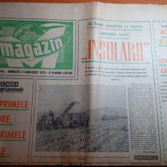 magazin 8 ianuarie 1972-articol despre insula marea a brailei