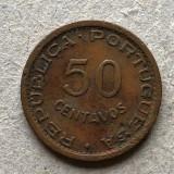 x299 Guine 50 centavos 1952