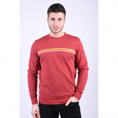 Bluza Jack&Jones Rudd Crew Neck Brick Red