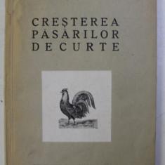 CRESTEREA PASARILOR DE CURTE de D. POPESCU SEVERIN , 1931