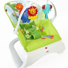 Leagan bebe Prietenii din padure Fisher Price, Multicolor