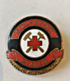 MEDICINA INSIGNA SALVATOR MINIER SERIA 115 INCUSA 24,75/24,40 MM, Romania de la 1950