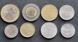 Italia set lire 1000 500 200 100 50 20 10 5 lire 1976 1998, Europa