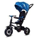 Cumpara ieftin Tricicleta pliabila cu roti gonflabile Sun Baby 014 Qplay Rito - Blue UFO