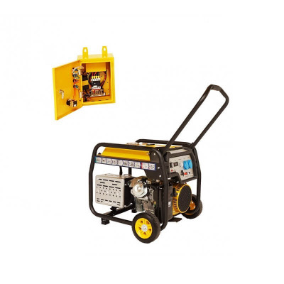 Generator curent electric Stager 8.5 kW + Automatizare foto