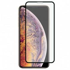 Folie de Sticla 5D APPLE iPhone 11 Pro Max (Negru) Full Glue