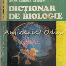 Dictionar De Biologie - Teofil Craciun, Luana-Leonora Craciun