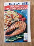 Cumpara ieftin WEGHT WATCHERS, QUIQ SUCCESS PROGRAM COOKBOOK, r4b