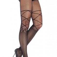 STK130-1 Ciorapi sexy de tip plasa cu model fundite