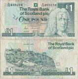 1988 (13 XII), 1 pound sterling (P-351a.1) - Scoția