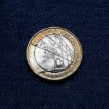 1g - 2 Pounds 2008 Anglia / Marea Britanie / 2 Lire / Jocurile Olimpice 1908