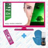 Televizor LED Horizon, culoare Roz, diagonală 61 cm, HD