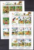 Mali 1996 Disney alfabetul MI 1622-1648 3 klb.+ 2 bl.93,94 MNH w66, Nestampilat