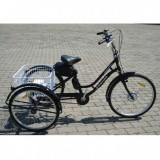 Bicicleta electrica retro 350W, Li-Ion 36V 8.8Ah, adulti si adolescenti, 3 roti